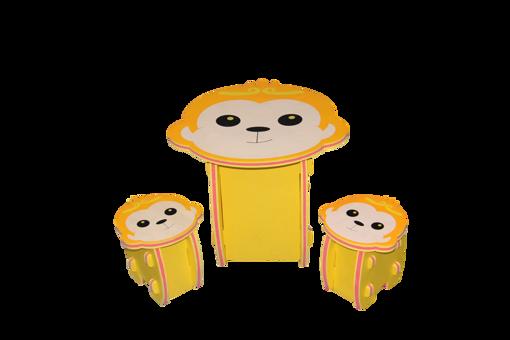 Picture of طاولة إسفنجية + 2 كرسي ( قرد )