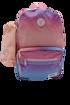 صورة شنطة ظهر و مقلميه - وردي و ازرق