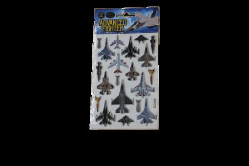 صورة ستيكر لاصق - طيارات حربية