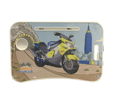 صورة طاوله دراسية بطبعة Speed motorcycle